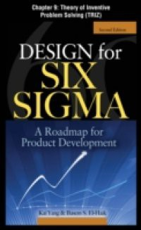 Design for Six Sigma, Chapter 9