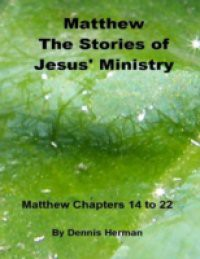 Matthew: The Stories of Jesus' Ministry: Matthew Chapters 14 to 22