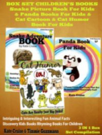 Box Set Children's Books: Snake Picture Book For Kids & Panda Books For Kids & Cat Cartoon & Cat Humor BOok For Kids