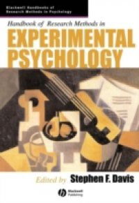Handbook of Research Methods in Experimental Psychology