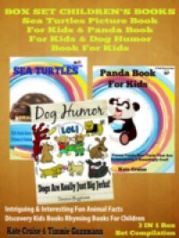 Box Set Children's Books: Sea Turtles Picture Book For Kids & Panda Book For Kids & Dog Humor Book For Kids