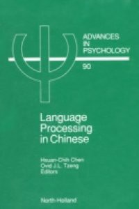 Language Processing in Chinese